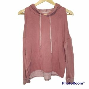 3 for $25 American Eagle Outfitters Soft & Sexy Cold shoulder hoodie small